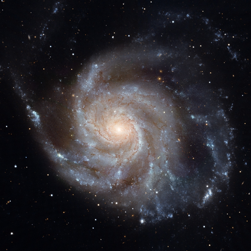 "A new study found an excess of counter-clockwise rotating or ""left-handed"" spiral galaxies like this one, compared to their right-handed counterparts. This provides evidence that the universe does not have mirror symmetry. Credit: NASA, ESA"