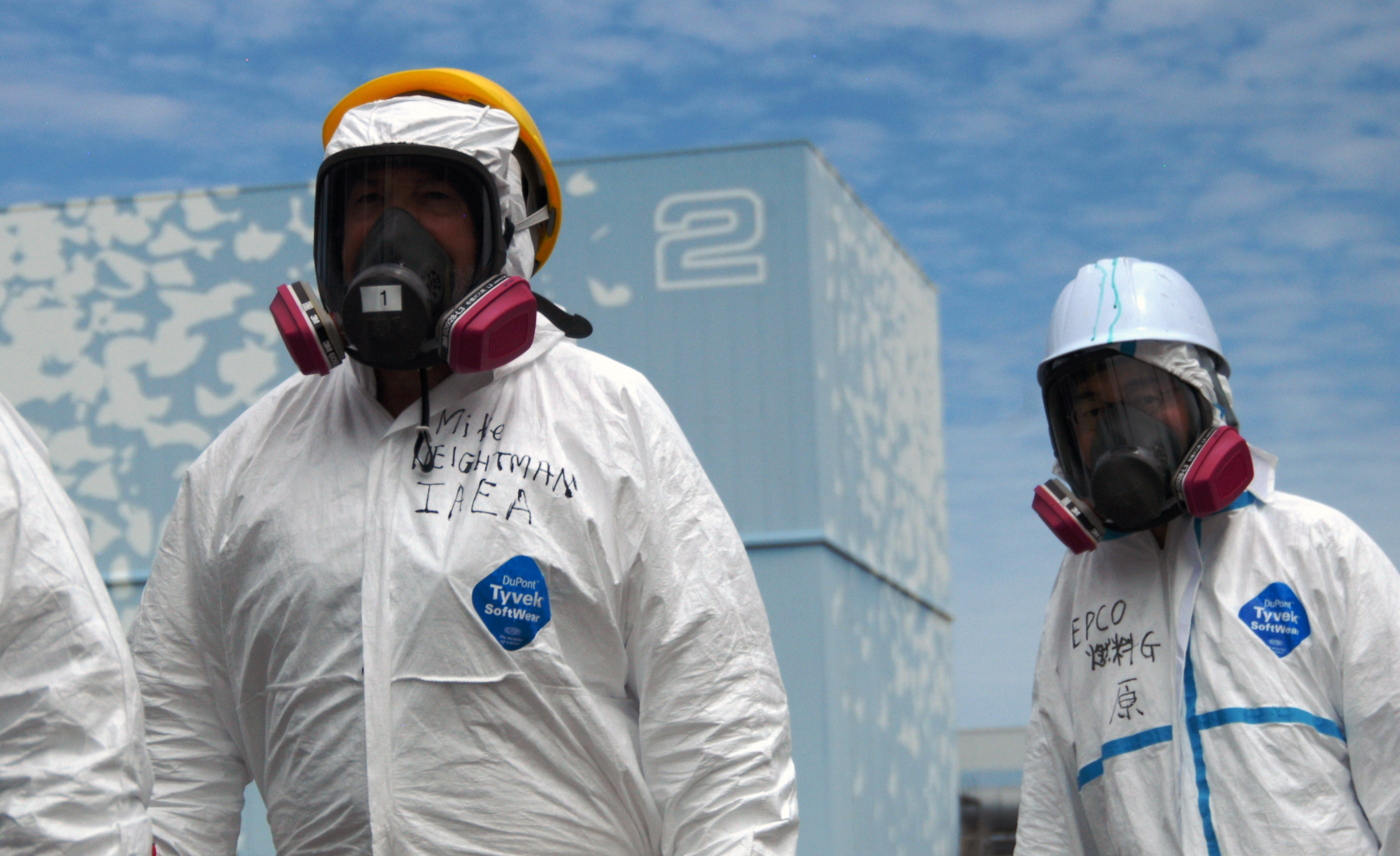 Investigators visiting the Fukushima Daiichi nuclear power plant in May 2011. Image credit: Greg Webb / IAEA