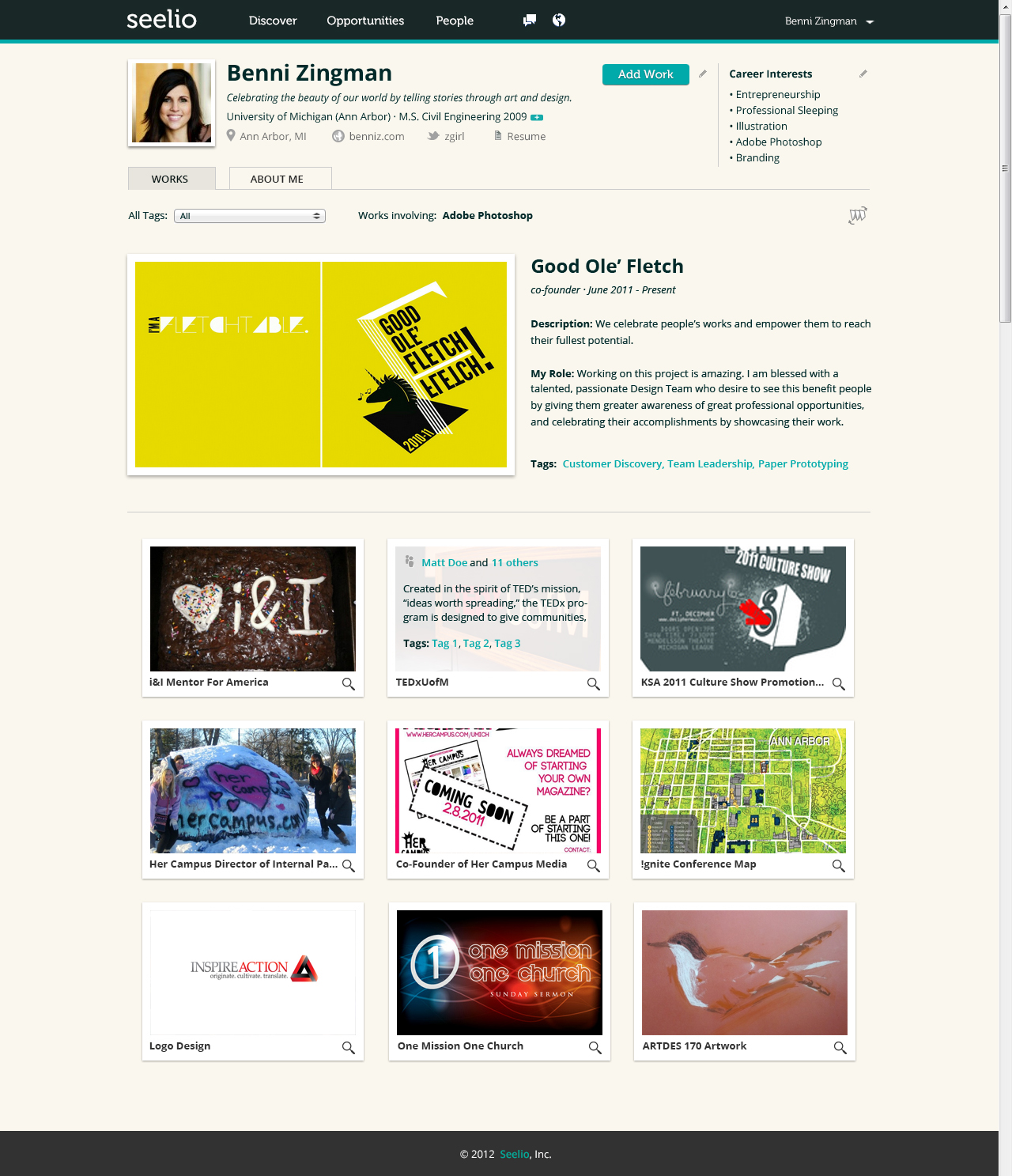 The Social Job Hunt Web Startup Brings Resumes To Life For