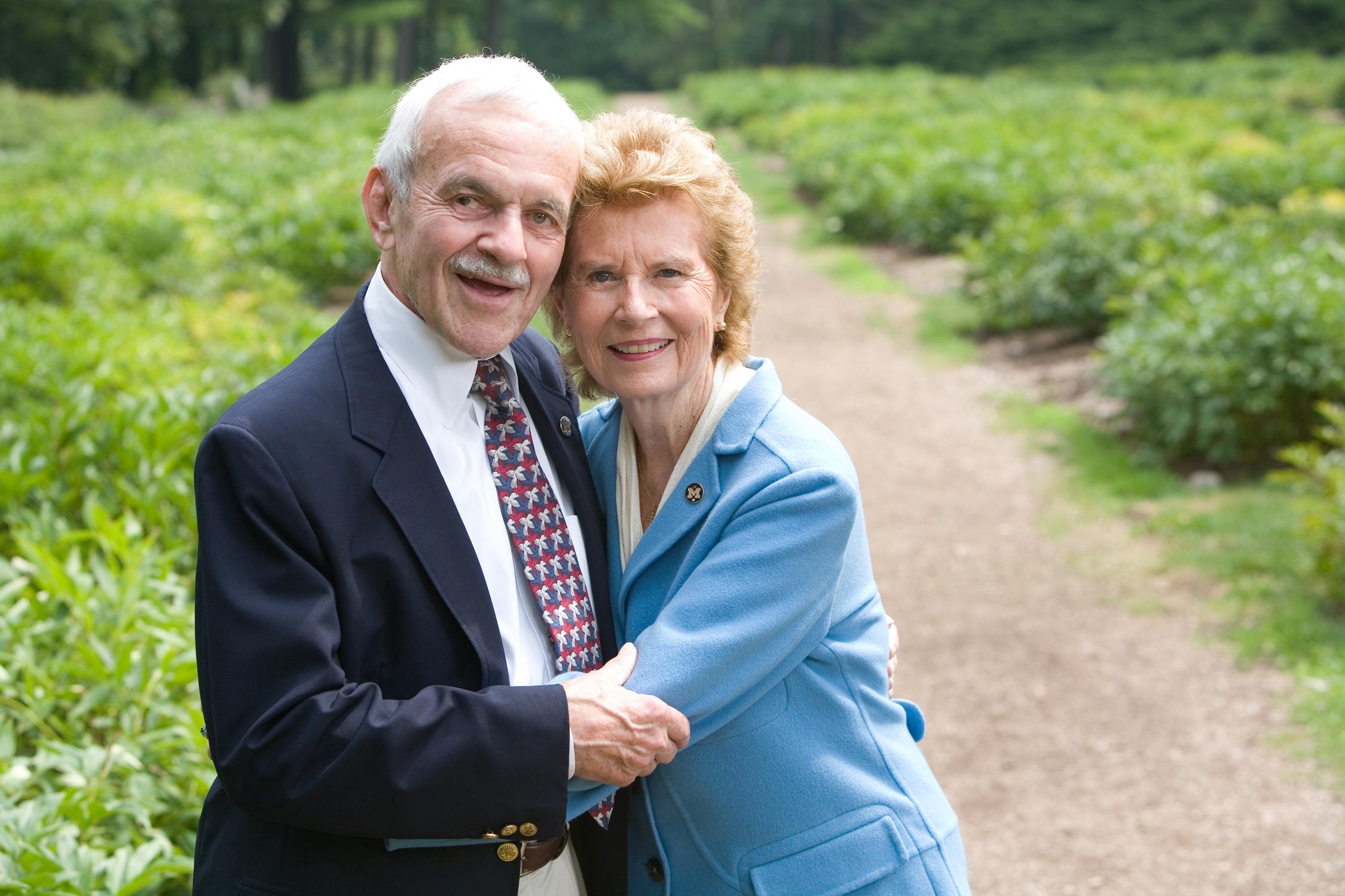 Barbara and Fred Erb