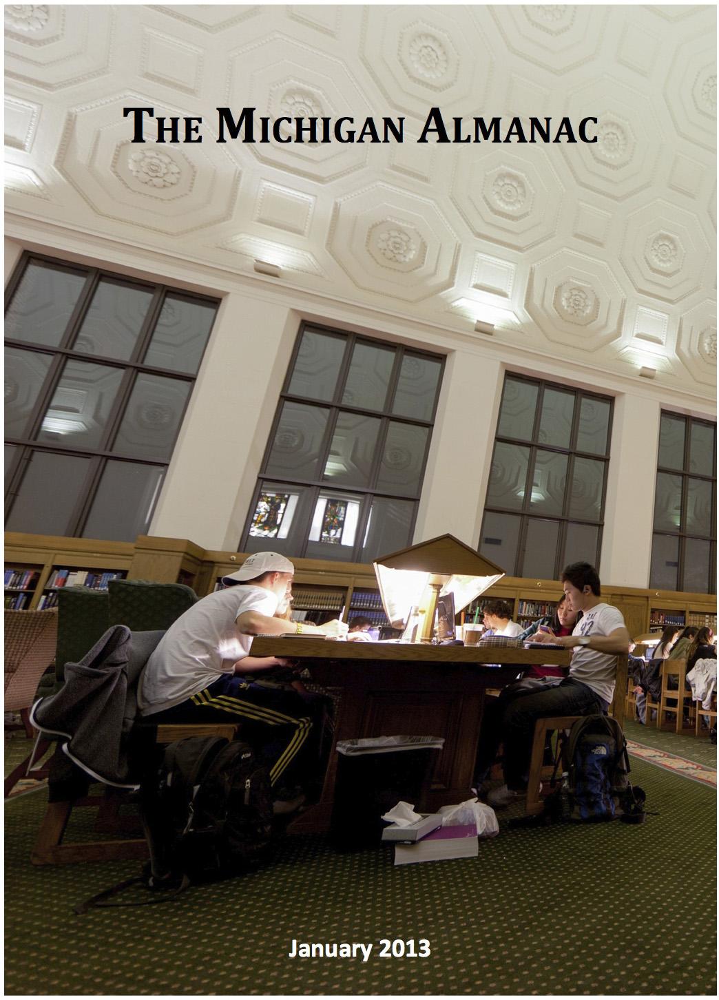Michigan Almanac cover image