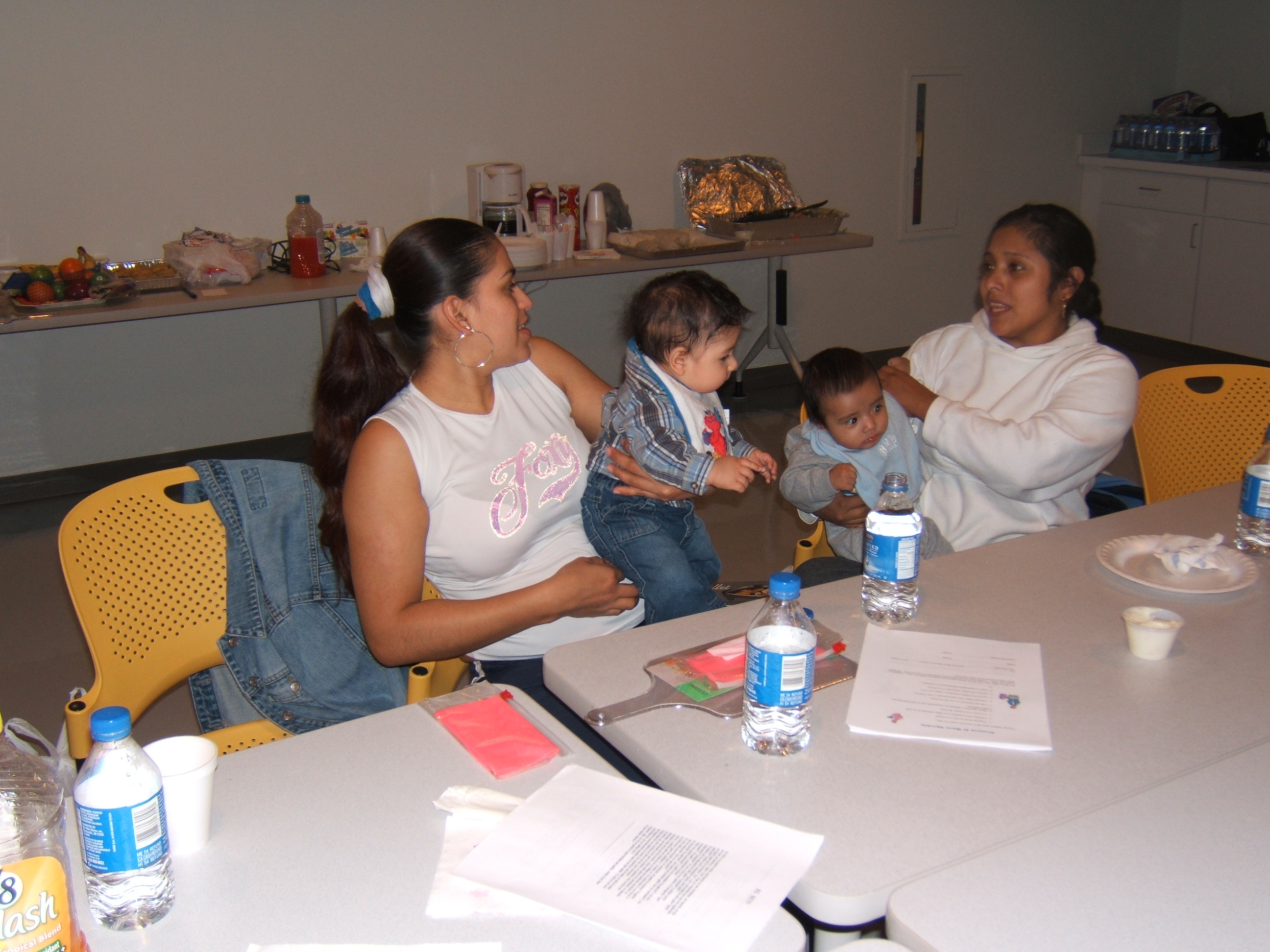 The Healthy MOMs program provided women with opportunities to talk and support each other during and after pregnancy. Image credit: Edith Kieffer