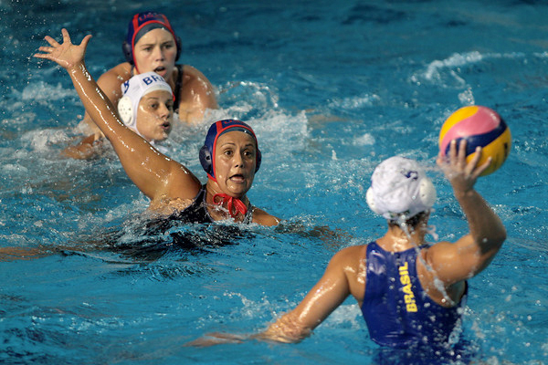 USA Water Polo National Team, 2012 Olympic gold medalists. Image courtesy: USA Water Polo