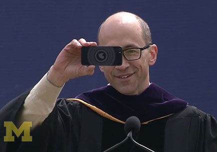 Video from Spring Commencement featuring Dick Costolo