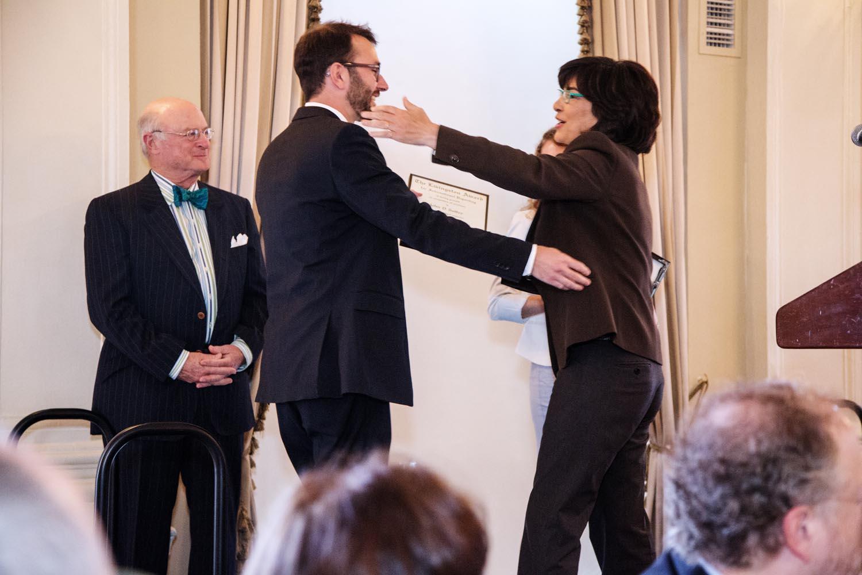 John D. Sutter, international co-winner with Livingston national judge Christiane Amanpour of CNN and ABC News. Image credit: Lina Jang