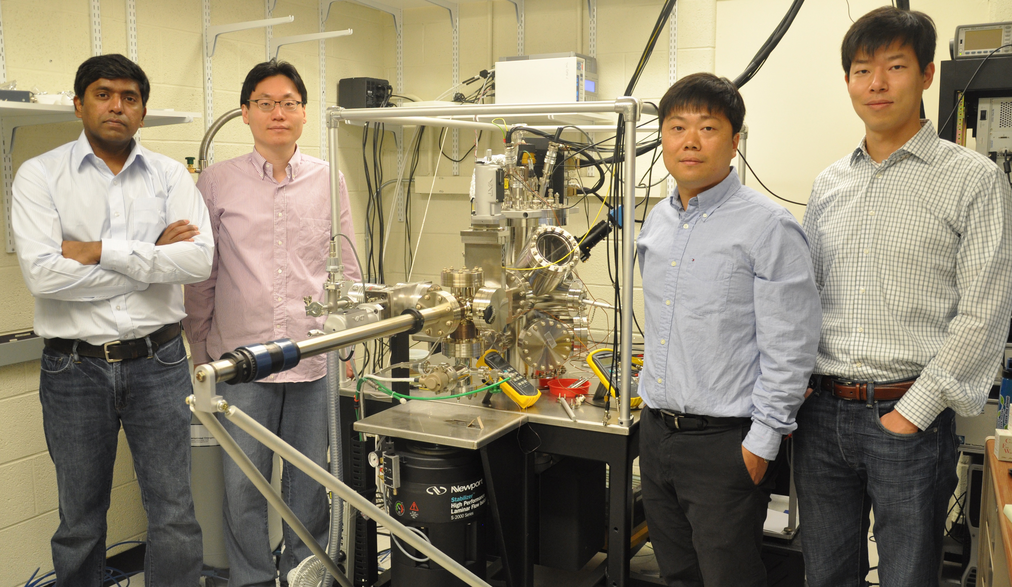 Research team (Right to left): Woochul Lee, Kyeongtae Kim, Wonho Jeong, and Pramod Reddy