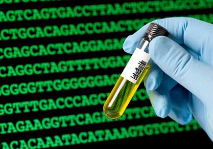 Patient DNA data. (stock image)