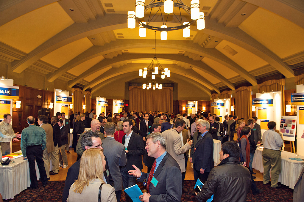 Attendees at the 2012 Celebrate Invention event. Image credit: Leisa Thompson