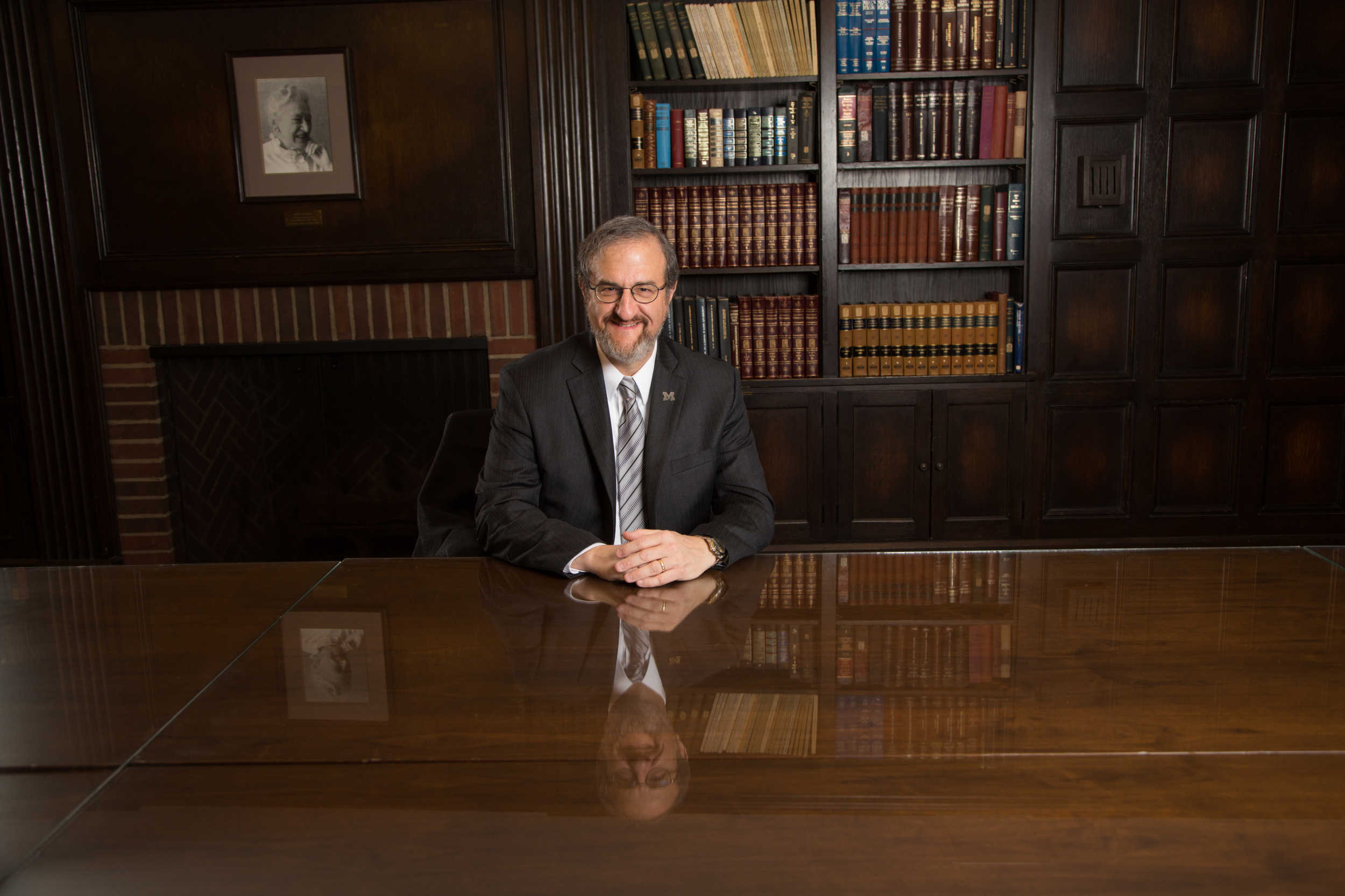 Mark S. Schlissel, 14th president of the University of Michigan