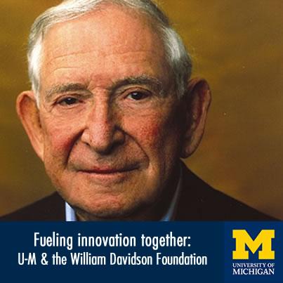 Fueling innovation together: U-M & the William Davidson Foundation