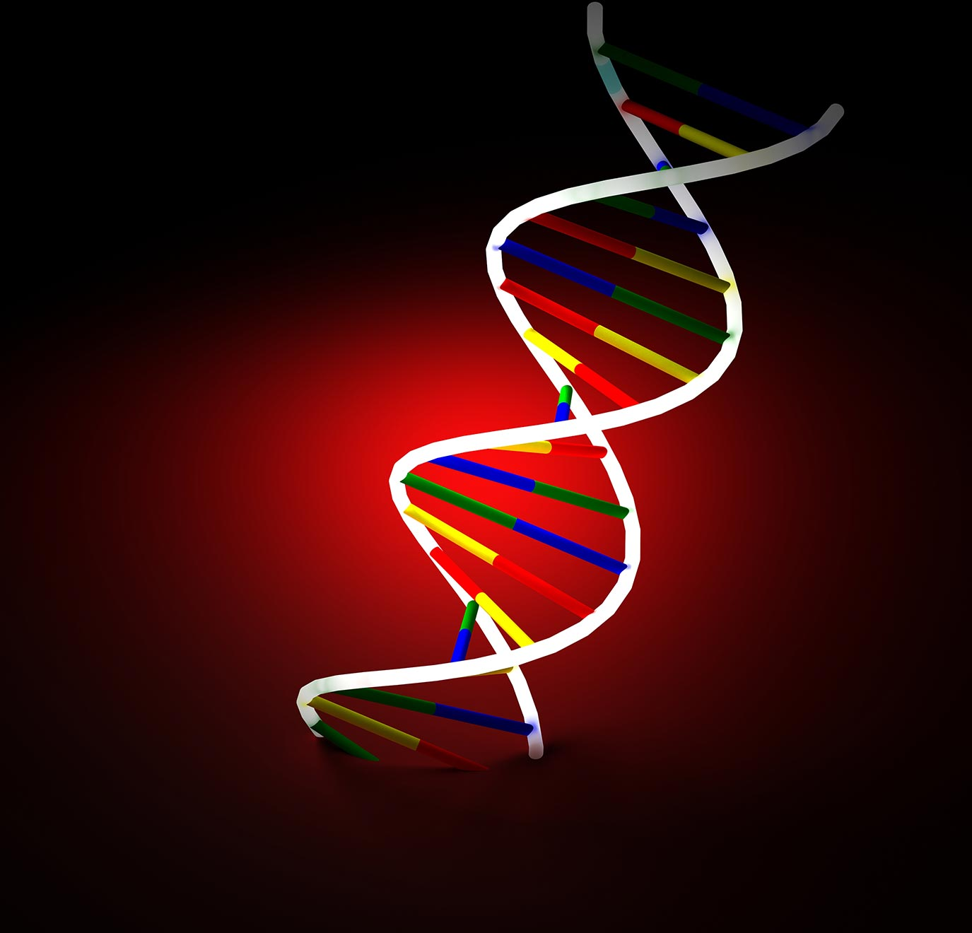 Abstract illustration of a DNA strand. Image credit: sxc.hu user svilen001