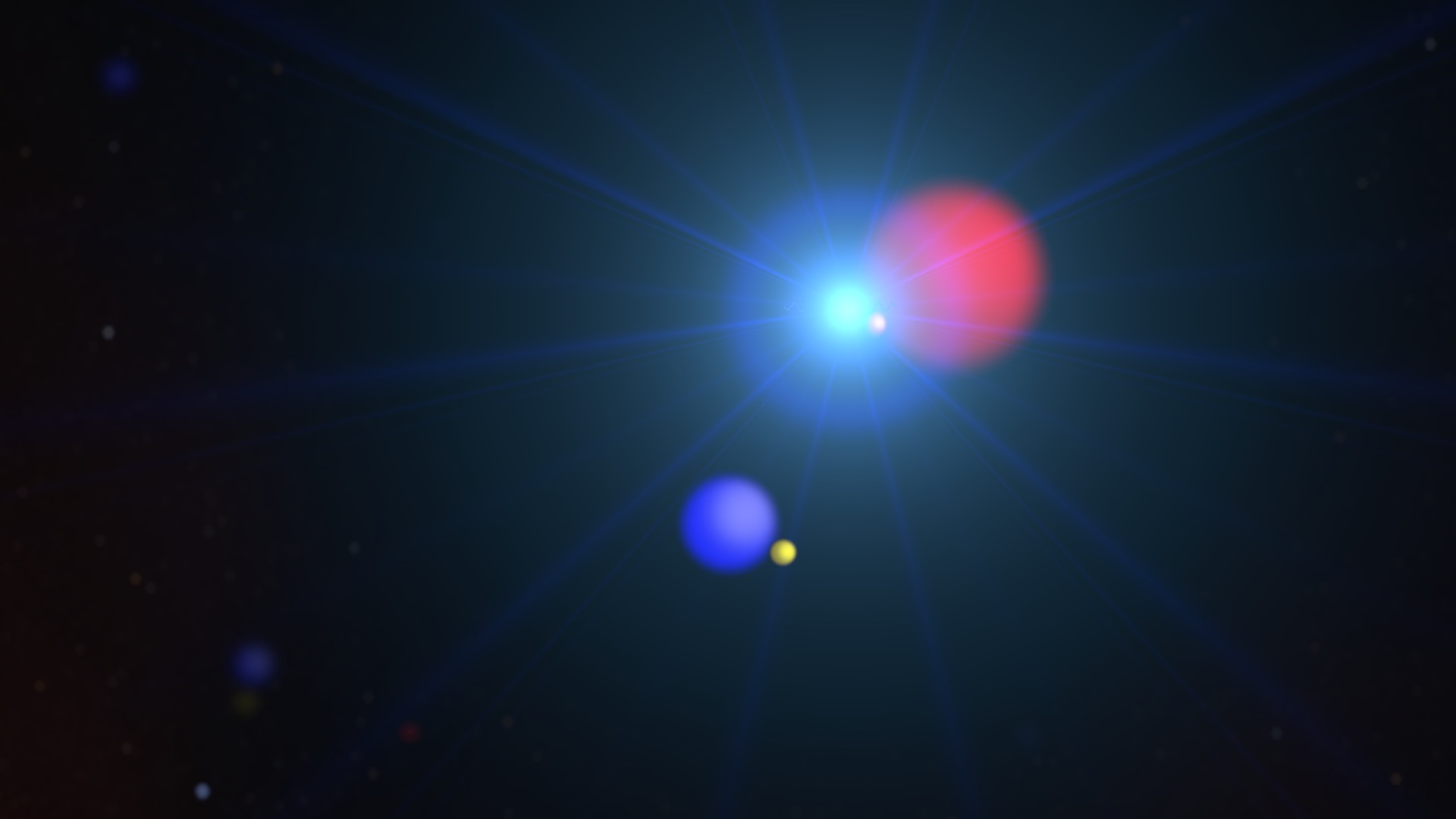 "An illustration depicting the ""local hot bubble,"" of gas that a supernova is believed to have left in our galactic neighborhood about ten million years ago. An international team of scientists has determined that it is the source of most of the diffuse X-ray background in our night sky. Image credit: NASA's Goddard Space Flight Center"