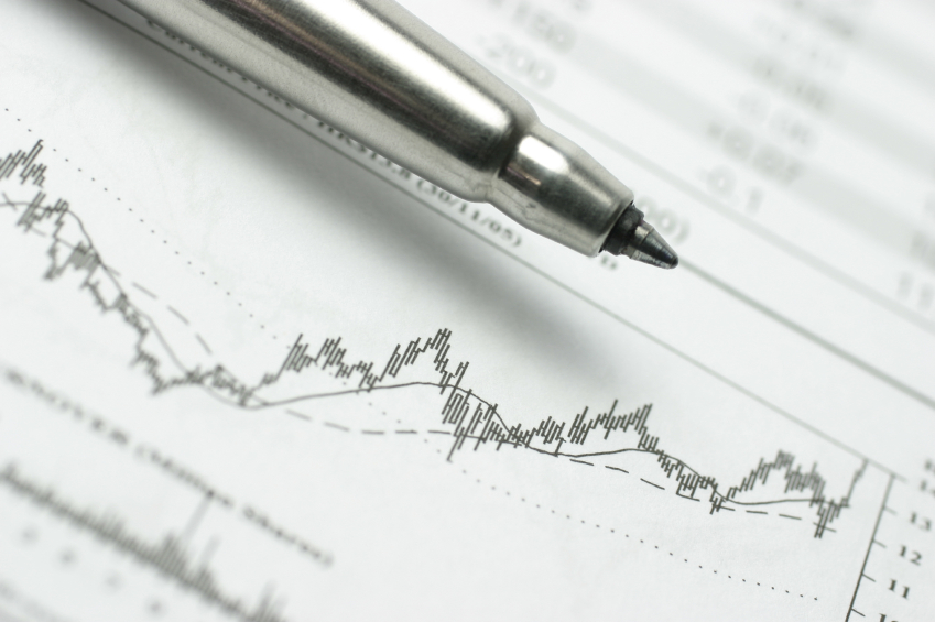 Financial growth. (stock image)