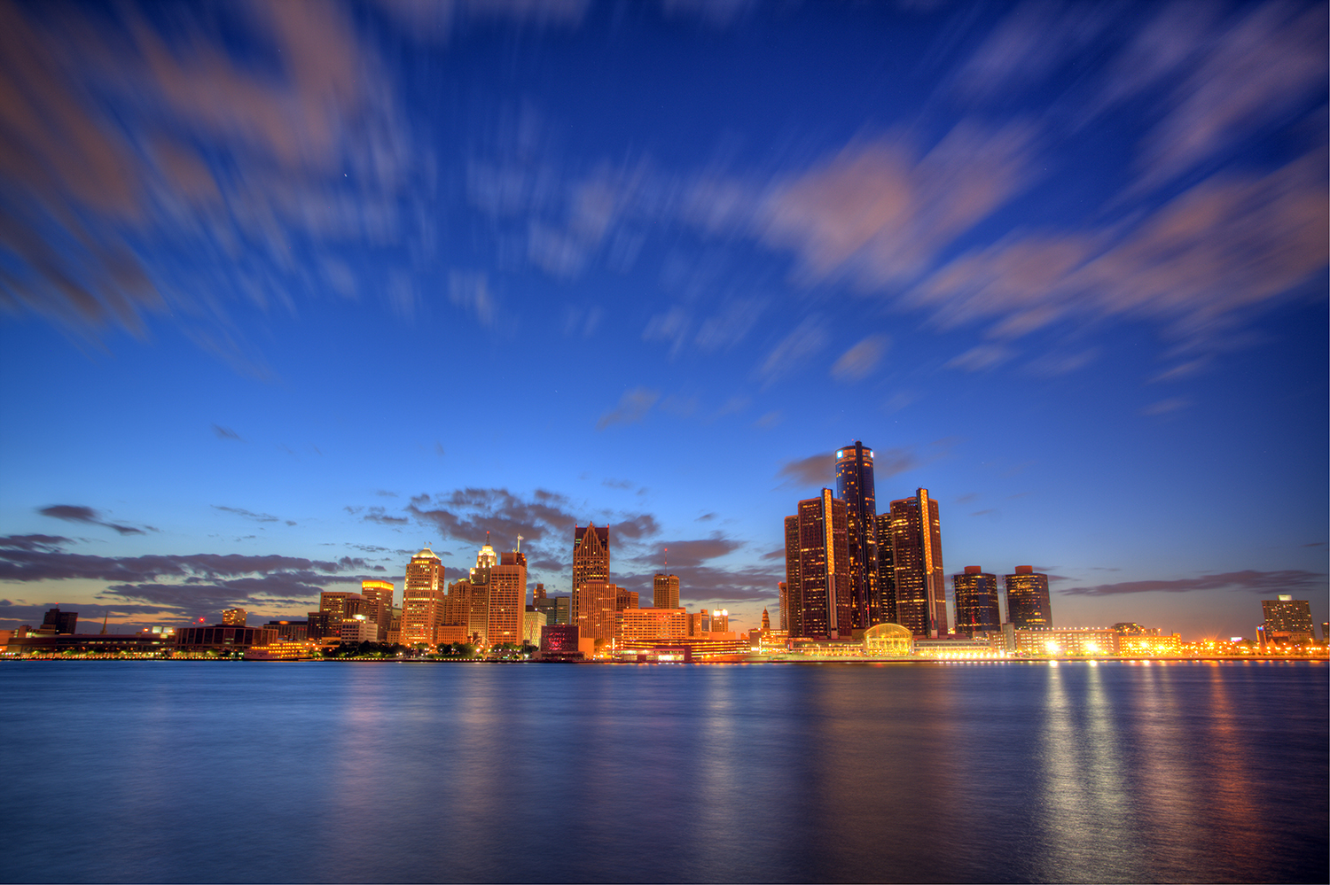 Detroit Skyline. Image credit: Andrew Langdal, Flickr
