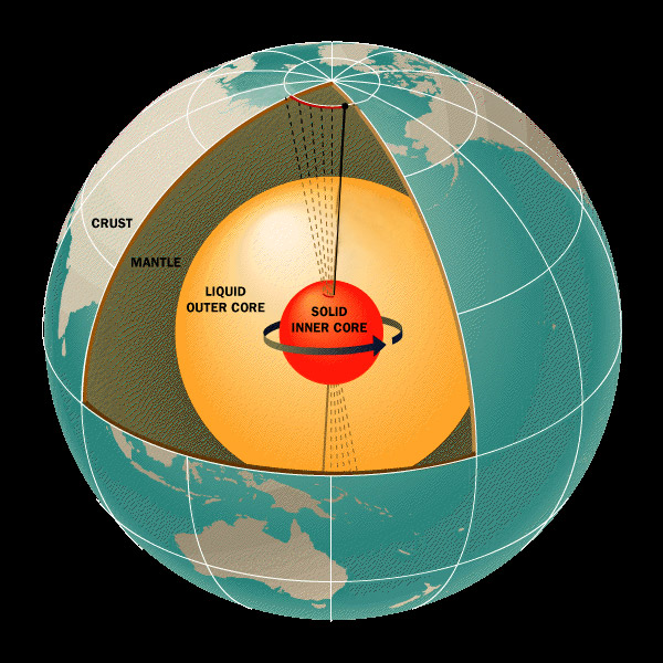 Earth's inner core may be the planet's largest carbon reservoir, a new University of Michigan-led study suggests. Image credit: JPL/NASA