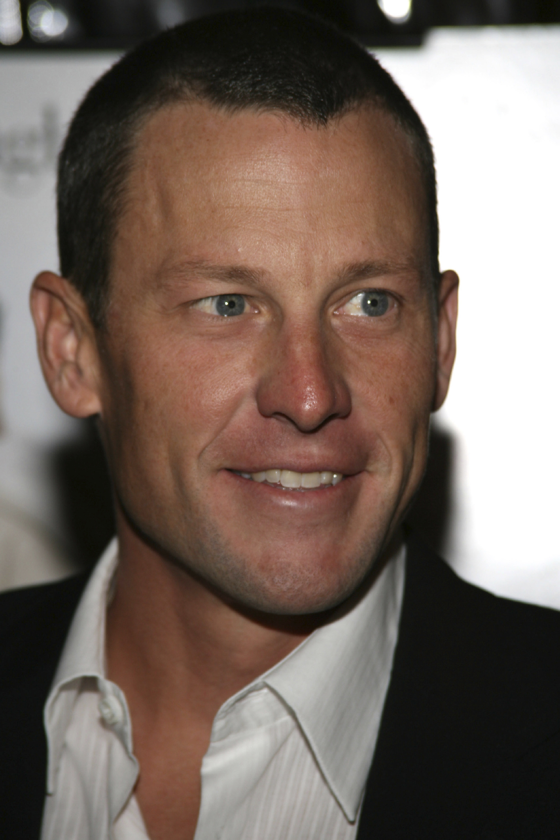 Photo of Lance Armstrong. (stock image)