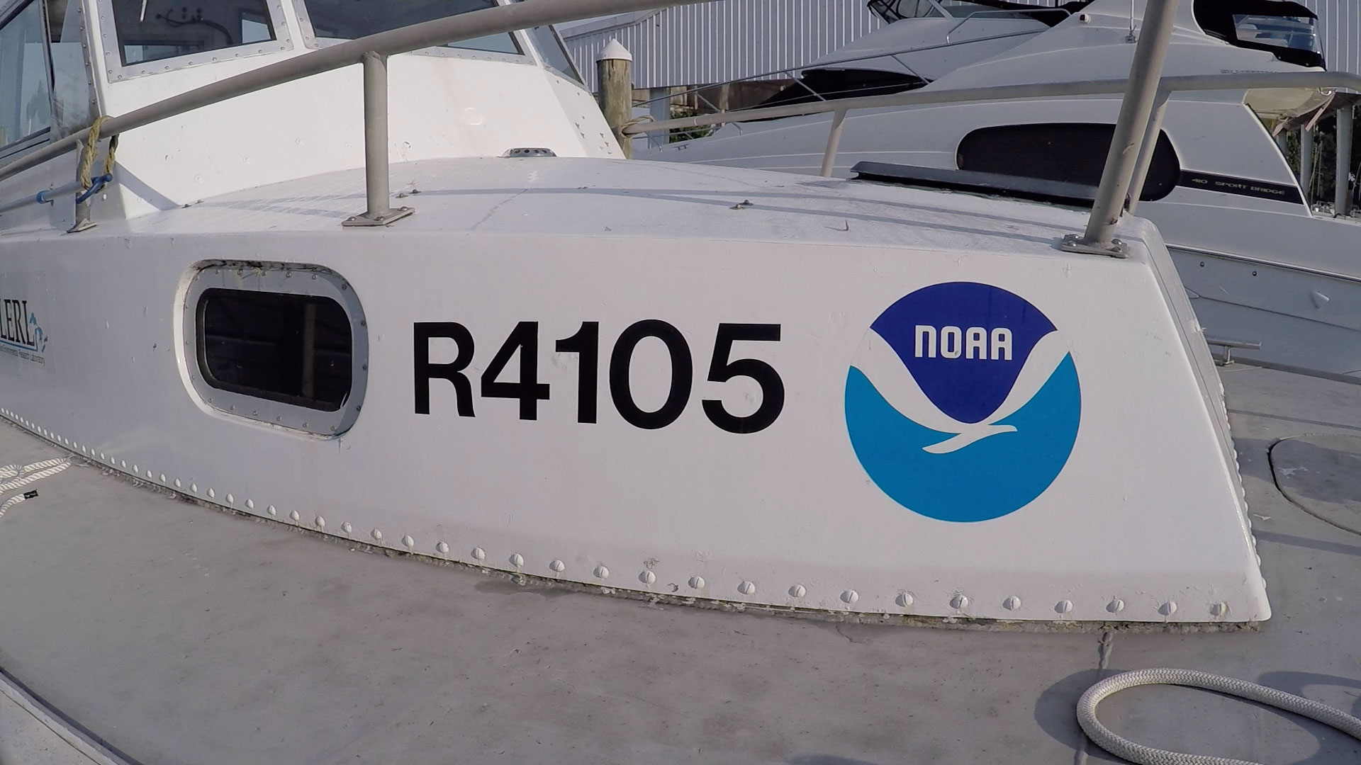 NOAA research vessel. Image credit: Mike Wood