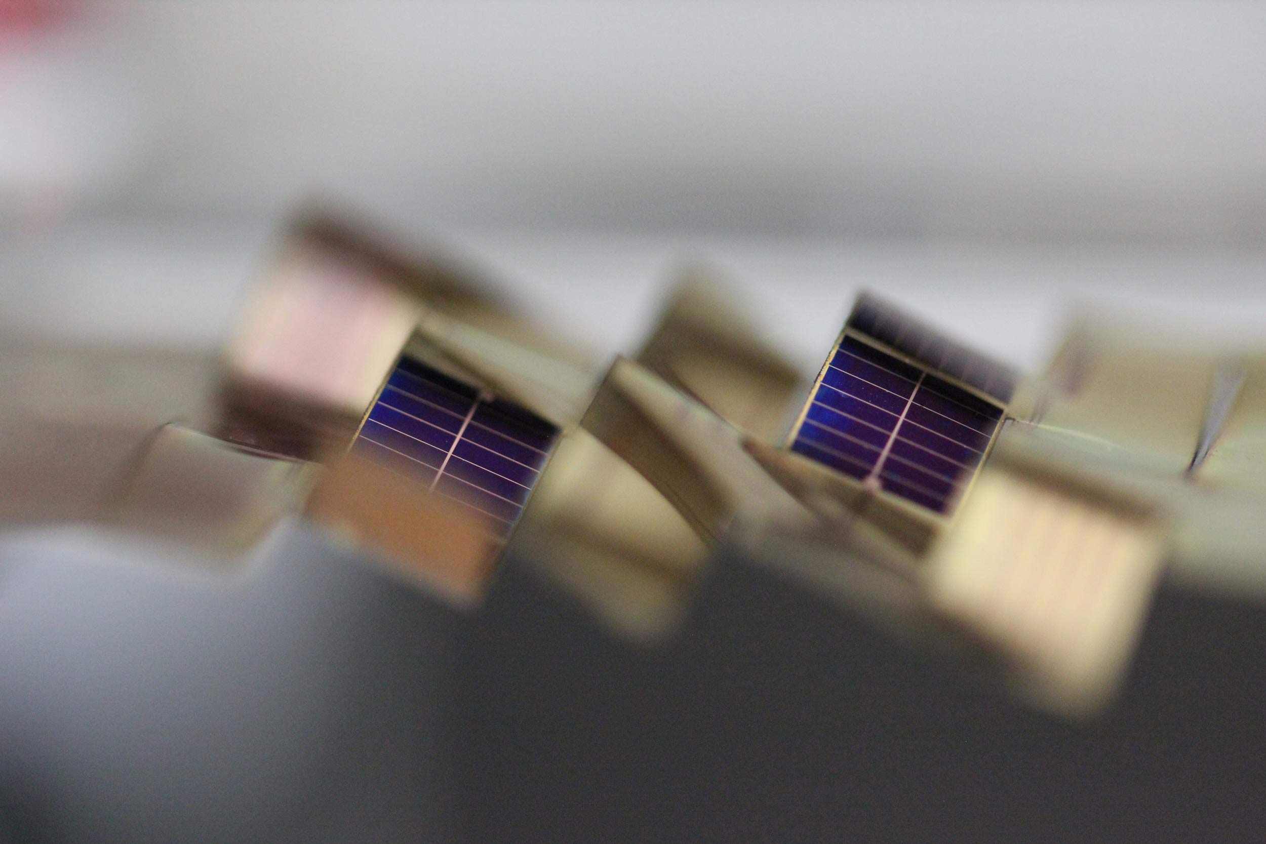 A second view of the solar cells. Image credit: Aaron Lamoureux