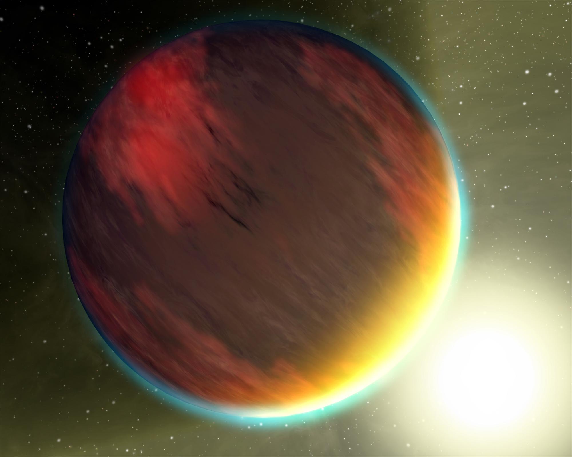 Representative image of a hot Jupiter. Image courtesy: NASA