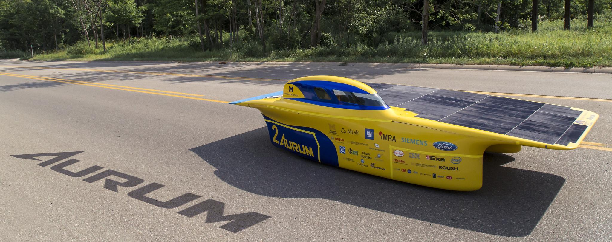 2015 Solar Car, Aurum