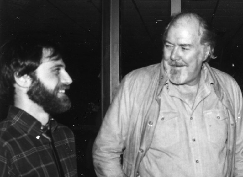 "Ira Deutchman & Robert Altman at the premiere of Gillian Armstrong's ""Starstruck,"" which opened the same week as ""Come Back to the Five & Dime, Jimmy Dean Jimmy Dean."""