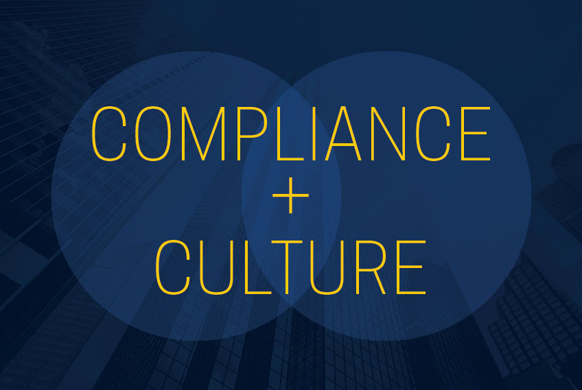 A venn diagram indicating compliance and culture.