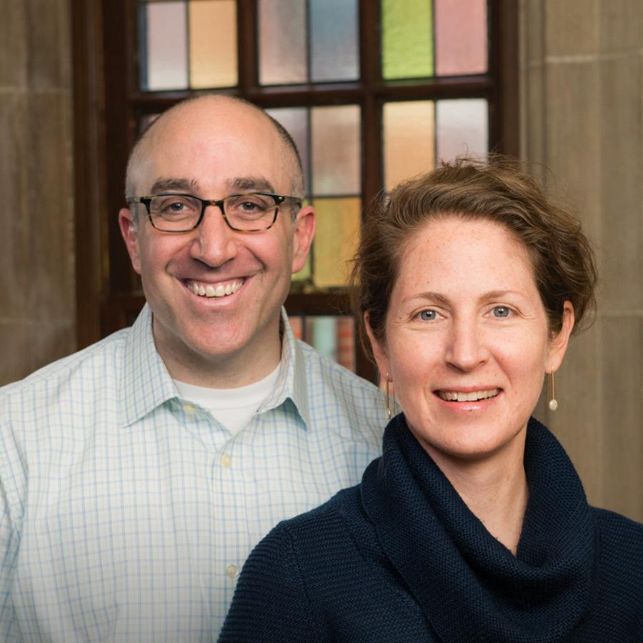 Mark Bernstein and Rachel Bendit