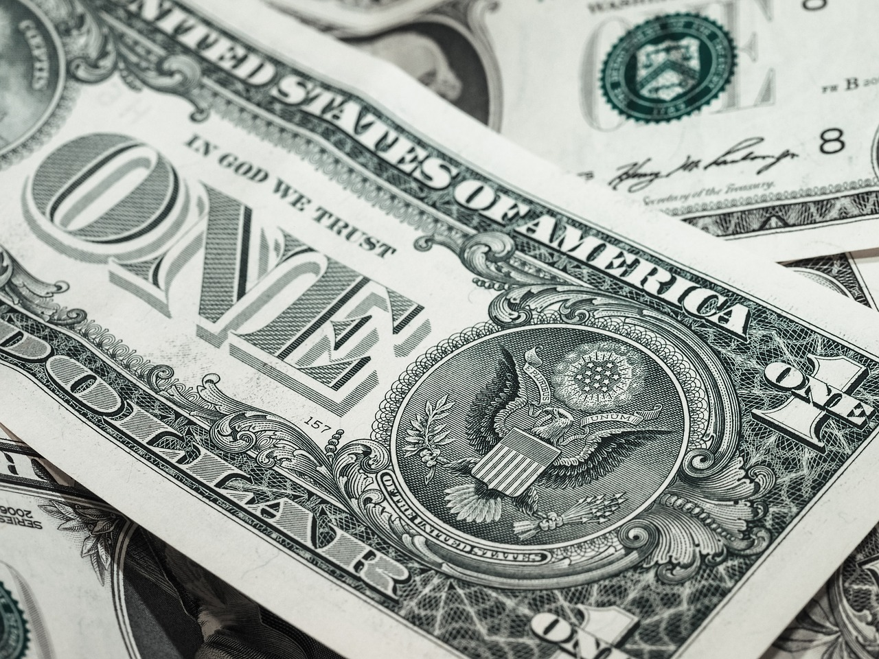 A dollar bill. (stock image via pixabay.com)