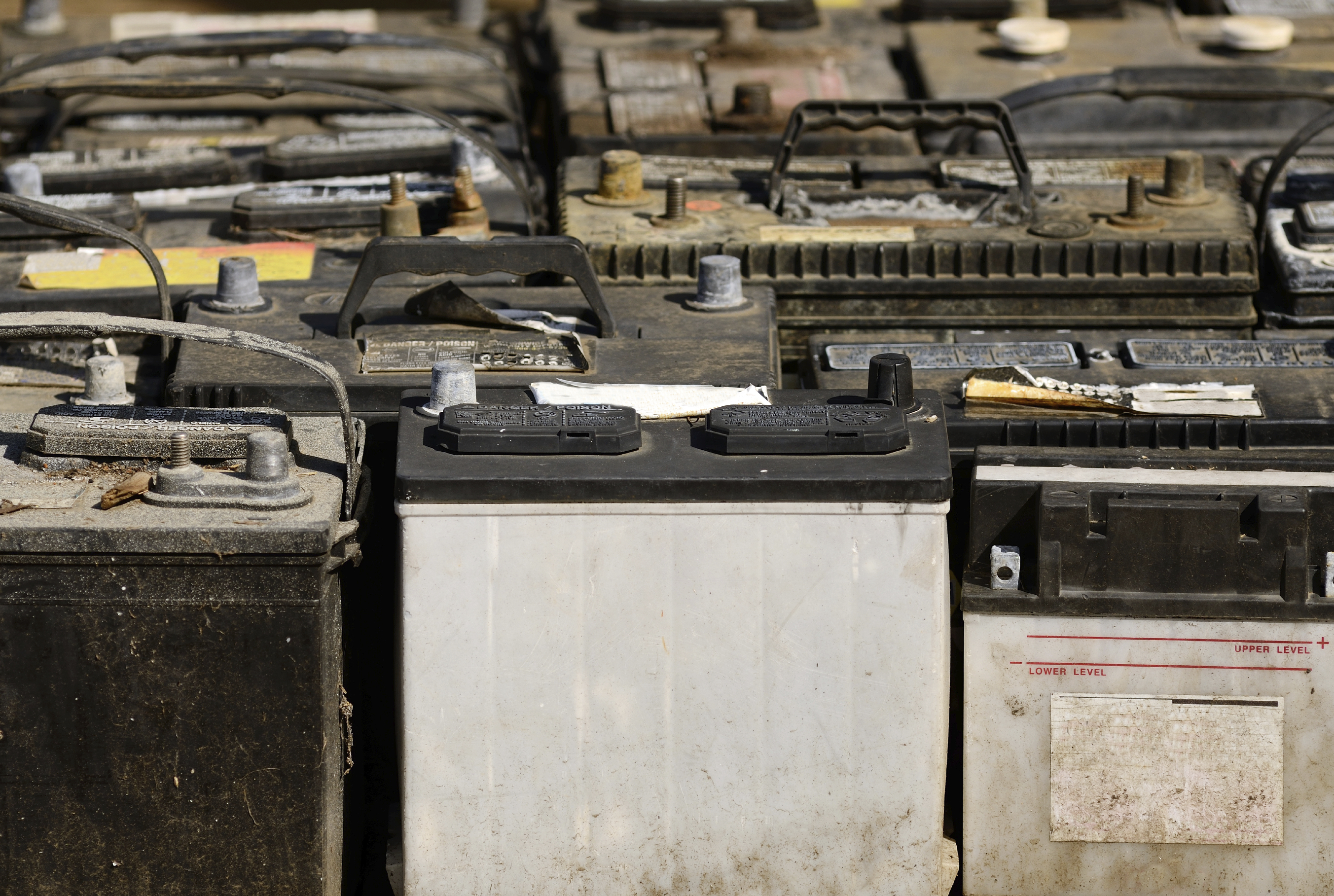 Old batteries. (stock image)
