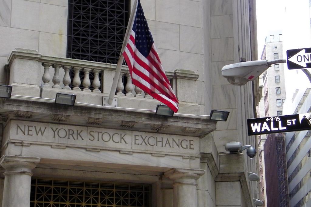 New York Stock Exchange. Image credit: Flickr.com user Alan Kotok