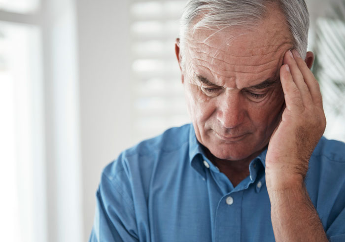 Men likely to gain weight after losing jobs prior to retirement (istock photo)