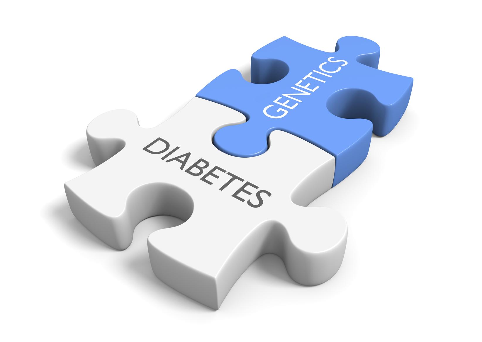 Link between genetics and diabetes. (stock image)