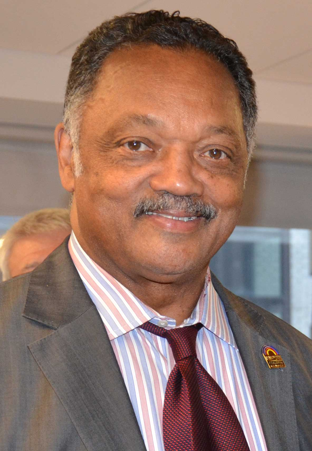 AFGE leaders and staffers meet with the Rev. Jesse Jackson to discuss coalition building.