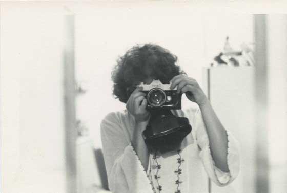 Nancy De Los Santos self-portrait. Circa 1975. Image credit: Nancy De Los Santos