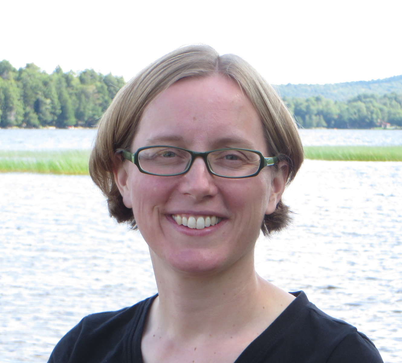 University of Michigan ecologist Meghan Duffy. Image credit: Richard Alben