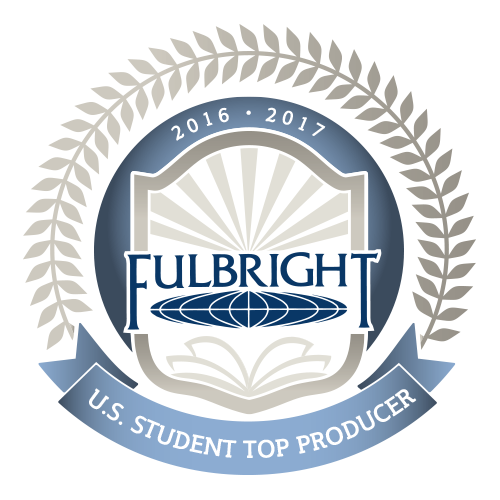 Fulbright award for U.S. top student producer.