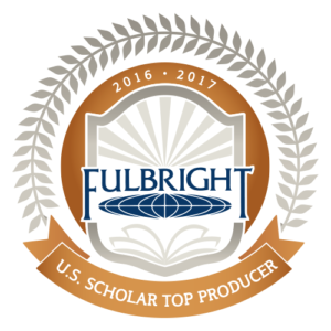 Fulbright award for top U.S. scholar producer.