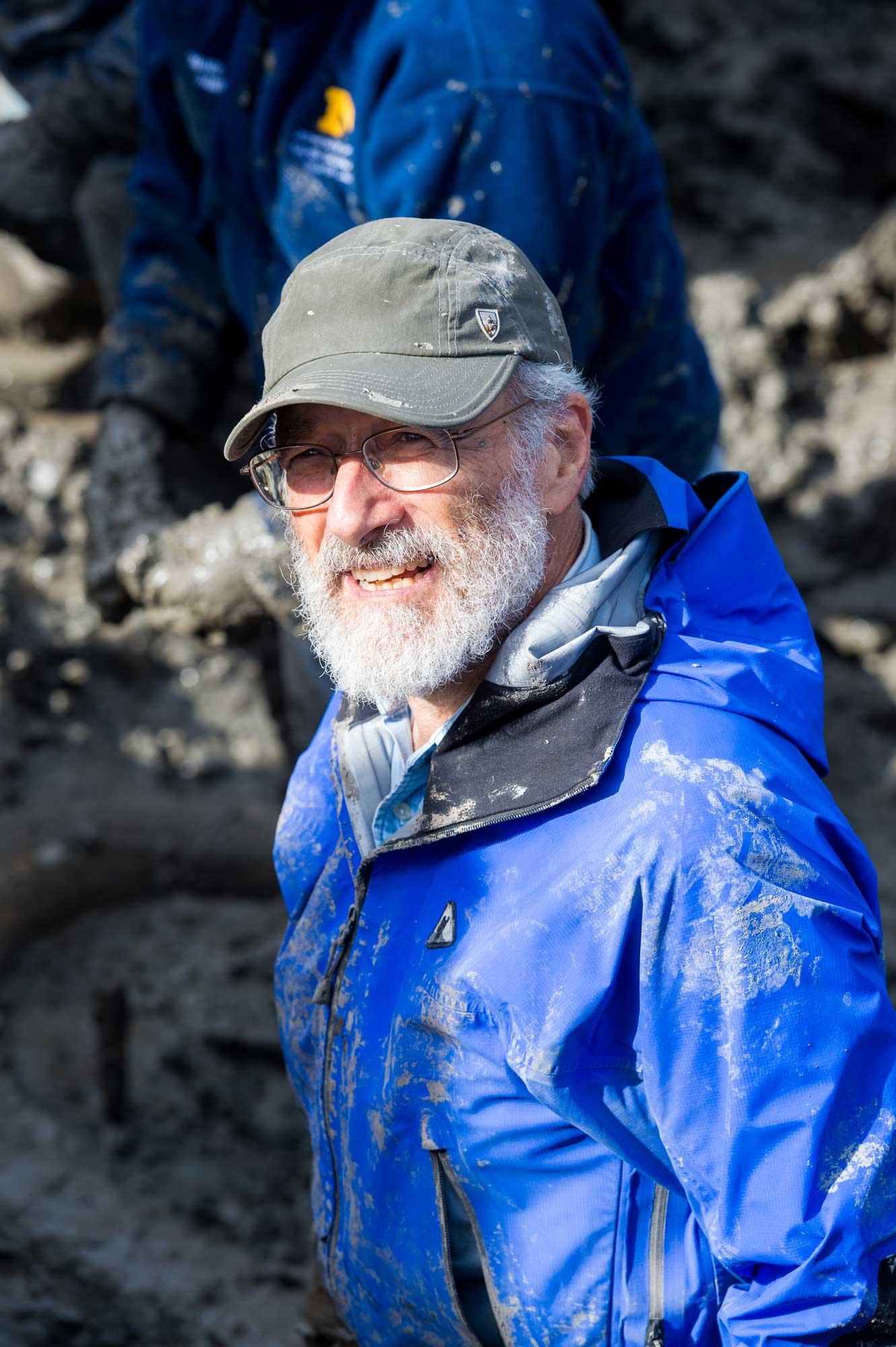 University of Michigan paleontologist Daniel Fisher. Image credit: Daryl Marshke/Michigan Photography