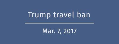 Trump's new travel ban