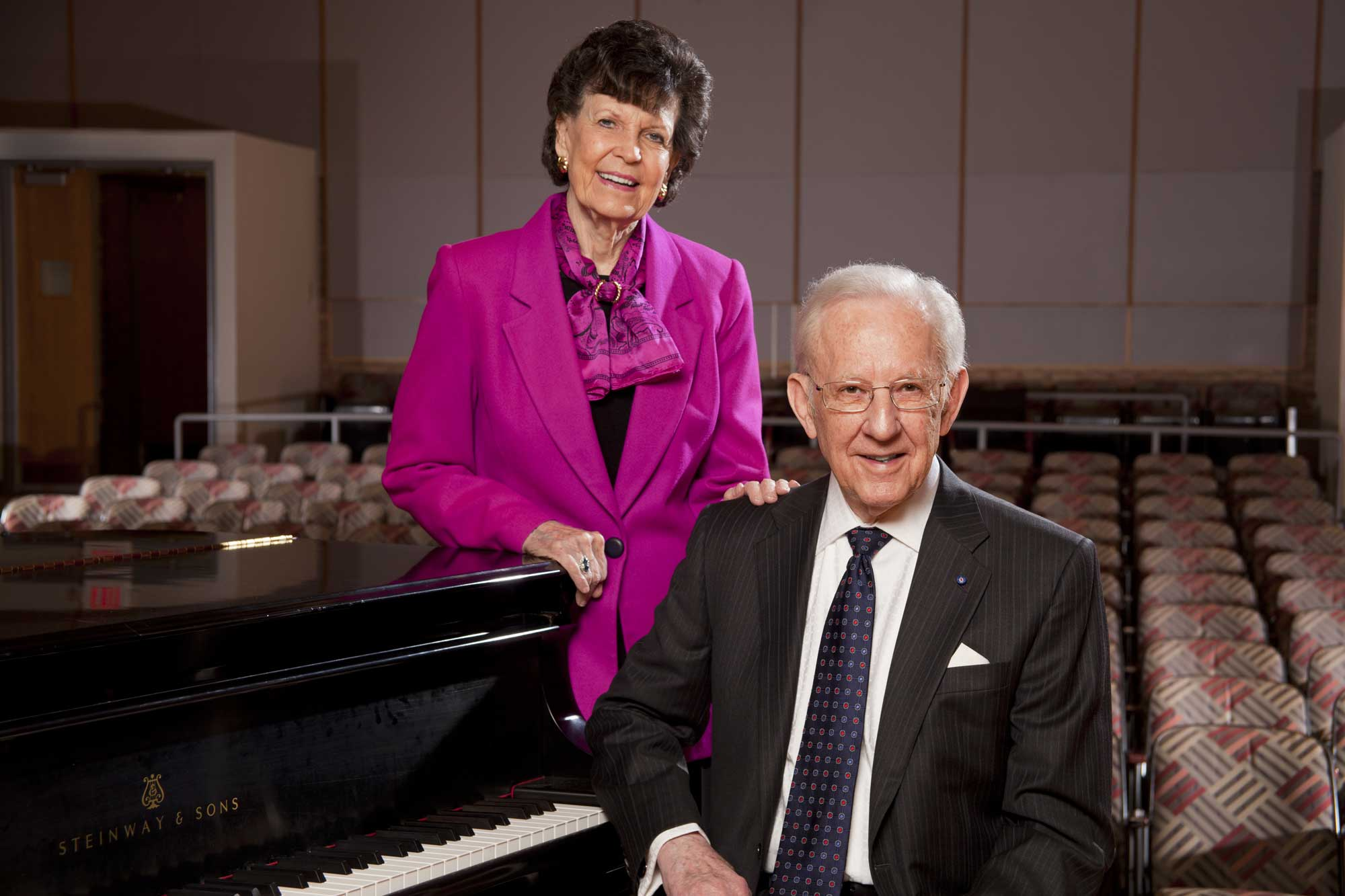 William and Delores Brehm's gift propels the U-M School of Music, Theatre & Dance  beyond its Victors for Michigan campaign goal of $90 million. Image credit: Mark Mastropietro