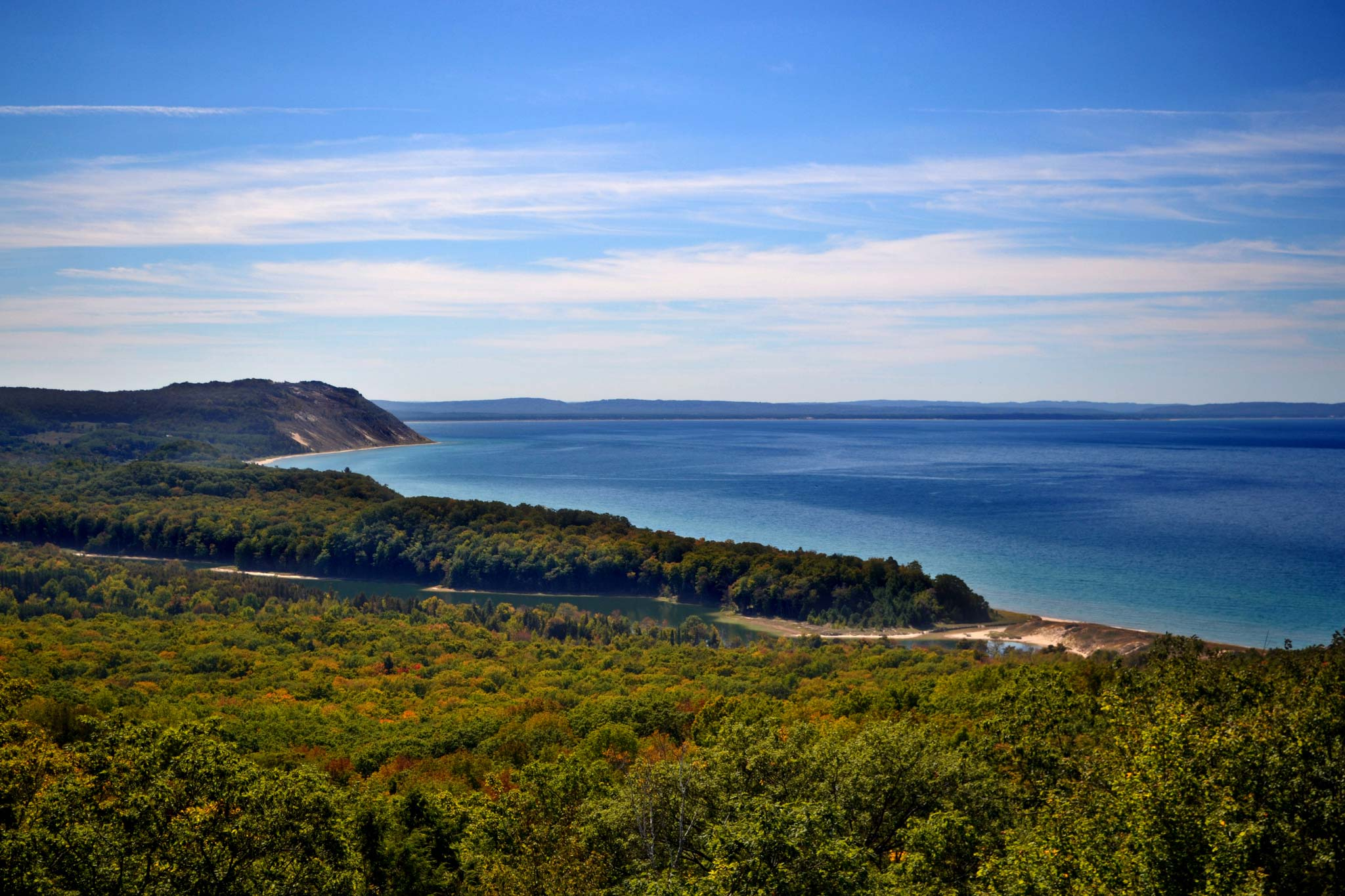 Sleeping Bear Dunes National Lakeshore. Image credit: Todd Marsee, Michigan Sea Grant