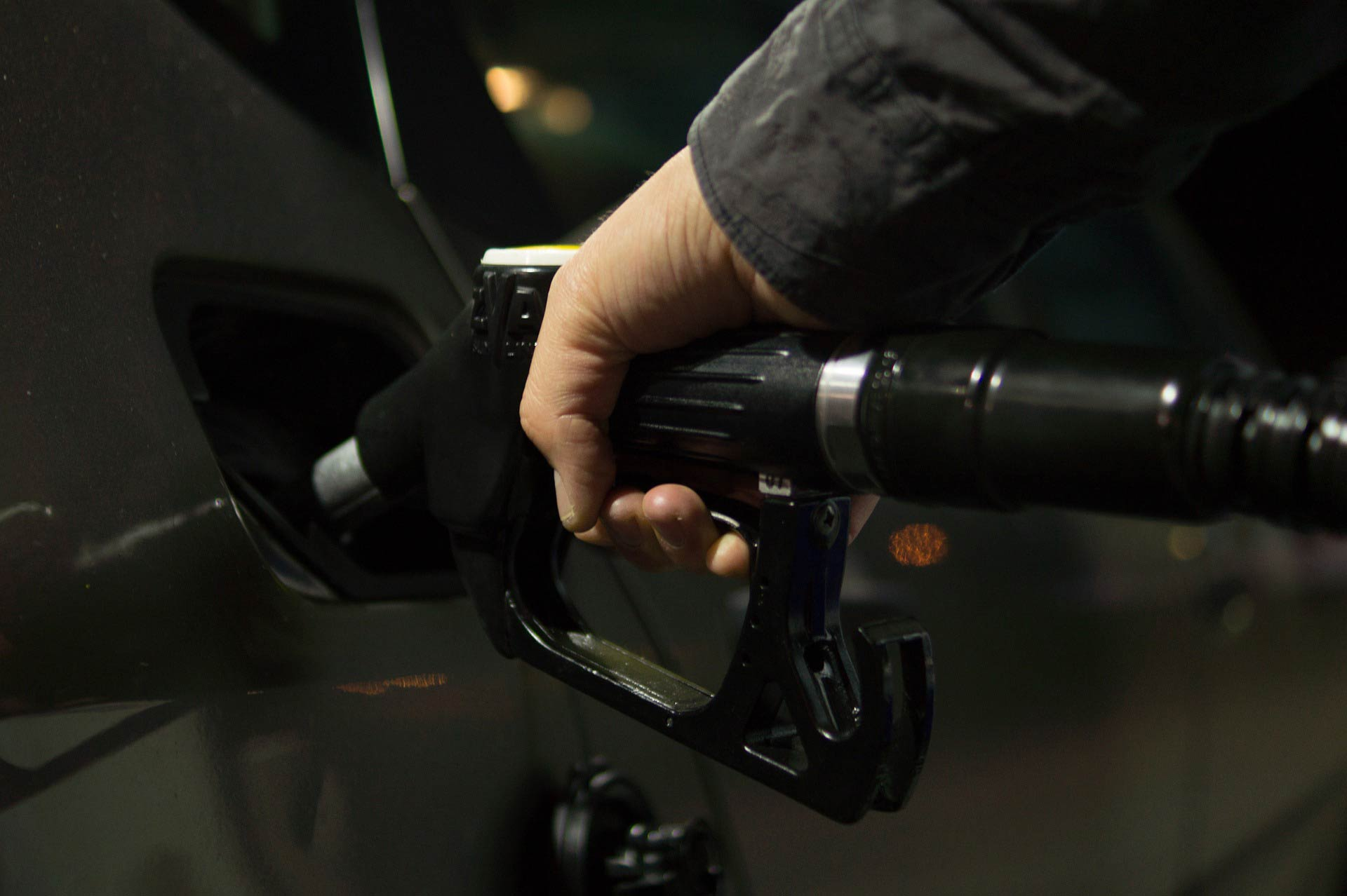 Pumping gas. (stock image)