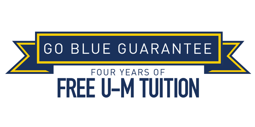 Image of the Go Blue Guarantee Logo