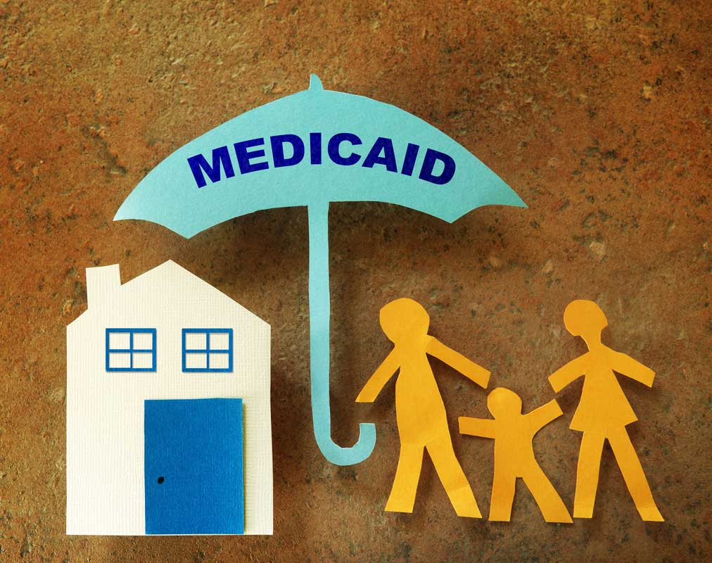 Family Medicaid umbrella. (stock image)