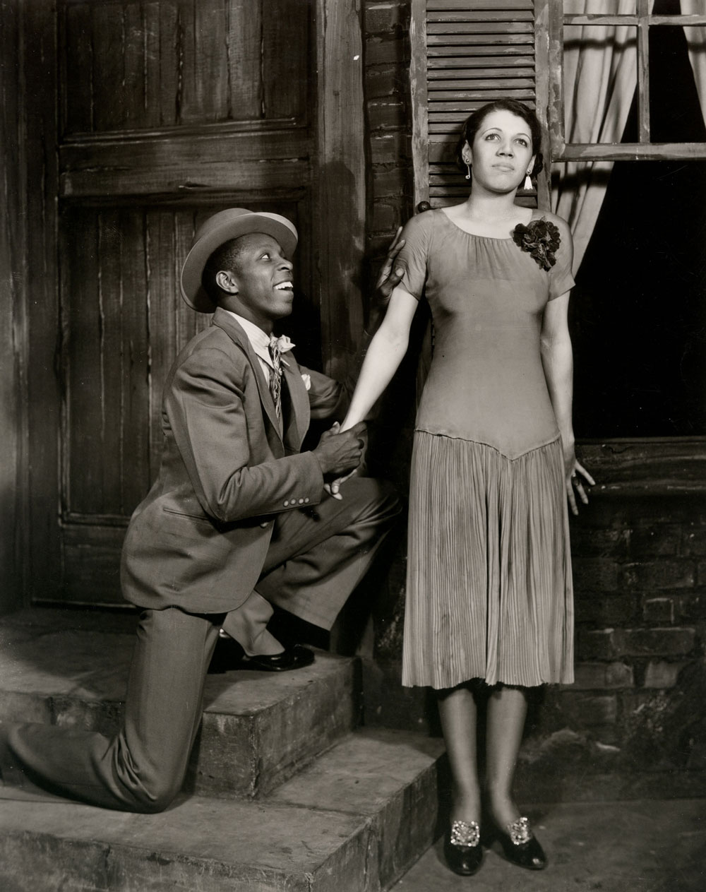 John Bubbles (Sportin' Life) and Anne Brown (Bess), 1935. Image credit: Ira & Leonore Gershwin Trusts