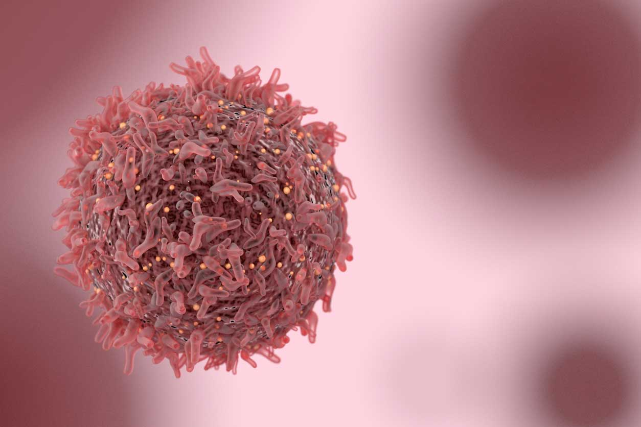 Cancer cell. (stock image)