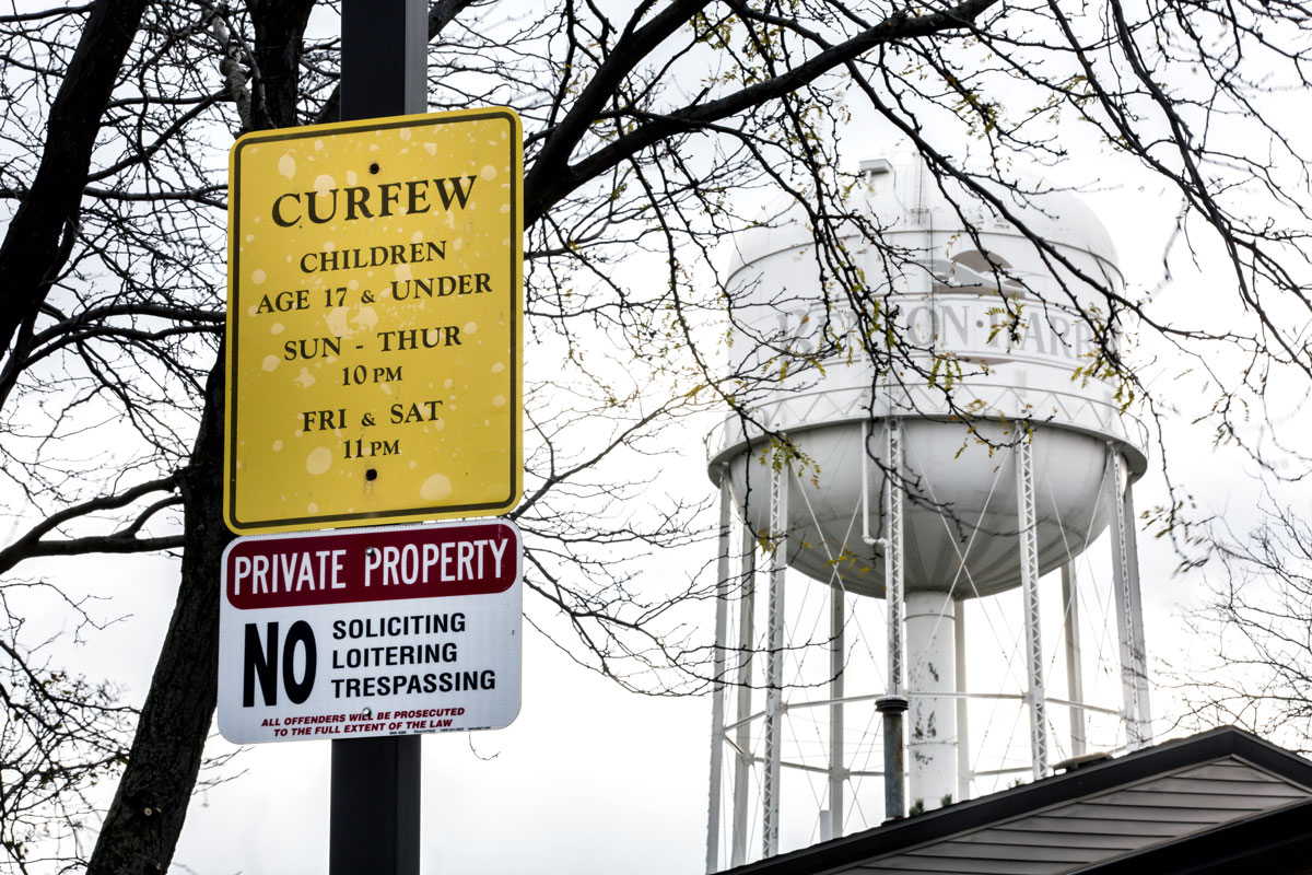 A Water Tower Overseeing Benton Harbor Mi A Once Prosperous City That Has Since