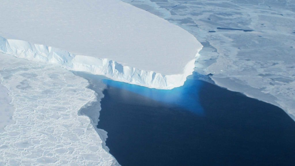 Thwaits Glacier. Image credit: NASA