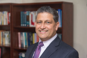Ravi Pendse, University of Michigan's new vice president for information technology and chief information officer