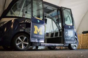 Mcity Driverless Shuttle